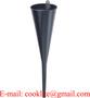 "18"" Long Neck Non Spill Liquid Oil Fuel Transmission/Filling Plastic Funnel"