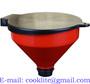 4 Quart Propylene Lockable Drum Funnel With Removable Screen Filter / Drum+