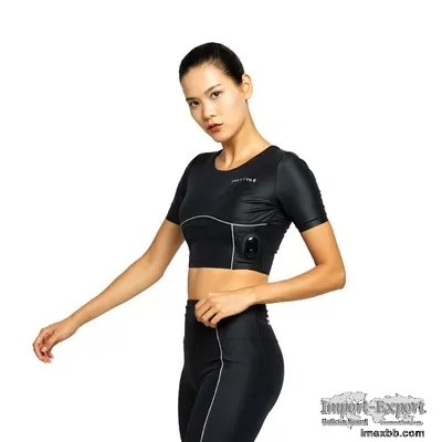 BODYTIME EMS Body Suit Nylon Black Womens Cycling Sweatshirts