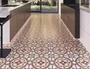200x200mm 8.5mm Thickness Indoor Porcelain Tiles Floor Wall Red Ceramic Ink