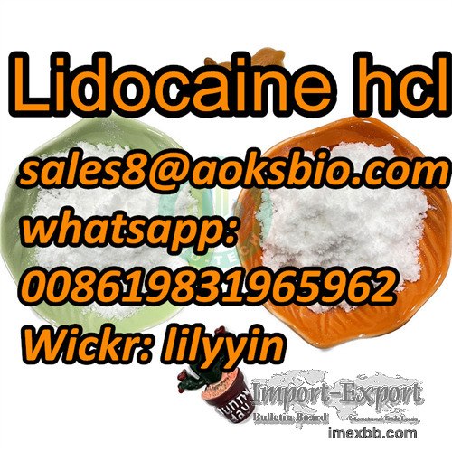 Factory Stock,100% Safe Delivery Lidocaine hcl,73-78-9, 59-46-1, 94-09-7,