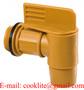 """Drum Drain Cock 2"""" BSP Polyethylene Barrel Tap/Faucet Dispensing Chemical L"""