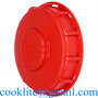 """Gallon IBC Tote Tank 6"""" Lid Cover Water Liquid Container Cap with Gasket"""