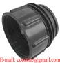 "PP IBC Tote Tank Adapter/Coupling DIN71 Male to 2"" BSP Female Drum Pump Ada"