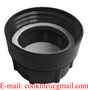 """PP IBC Tote Tank Adapter/Fitting 2"""" BSP Female to DIN71 Female Plastic Drum"""