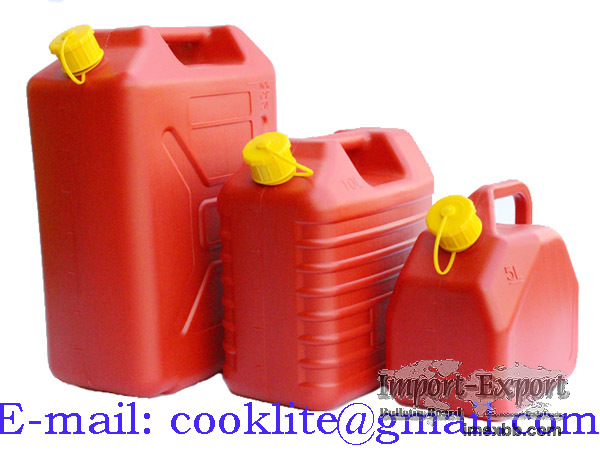 Anti-static Plastic Fuel Can HDPE Gasoline Diesel Jerry Can