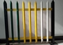 W Section Palisade Fencing 1.8m H Post Security Steel Fence