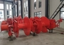 Electric Hydraulic Mooring Winch Compact Strong Structure