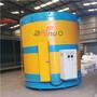 Liquid Zinc Holding Tank    zinc water tanks