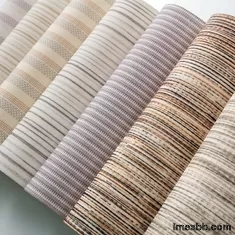600D*600D Roller Blinds Fabric , 2.0m Semi Transparent Curtain Fabric
