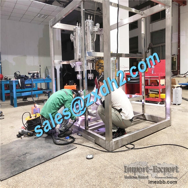 High Purity Hydrogen Gas Generation equipment for hydrogen fuel cell with l