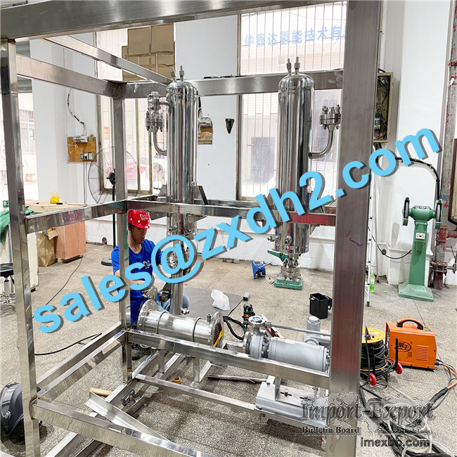 High Reliable Large Alkaline hydrogen generator plant with capacity 500Nm3/