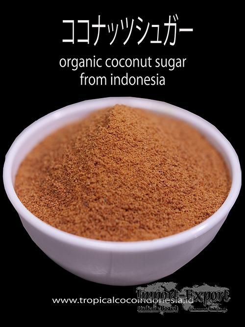 COCONUT SUGAR ORGANIC INDONESIA