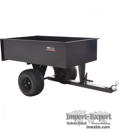 Ohio Steel ATV Trailer - 1,500-Lb. Capacity, 20 Cu. Ft
