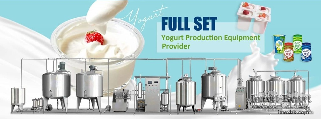 Professional Yogurt Processing Crafts and Equipment