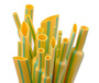 Yellow green heat shrinkable tube