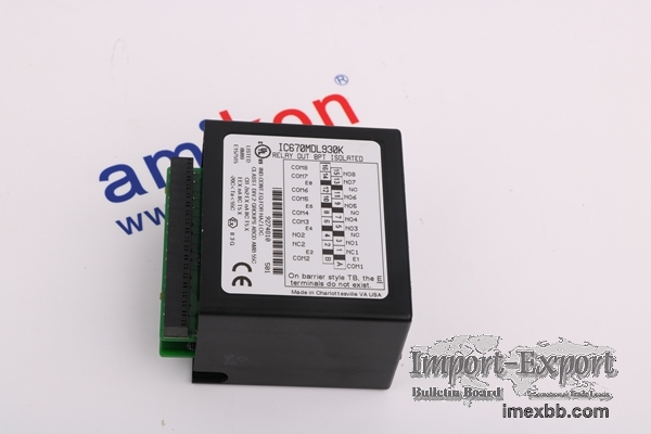 GE IC693MDL646 / Our service is more professional