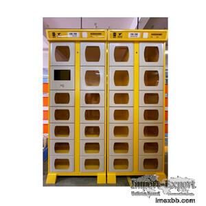 Smart Self-service meal pickup Cabinet