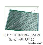 FLC2000 Flat Shale Shaker Screen API RP 13C Replacement Hookstrip Screen