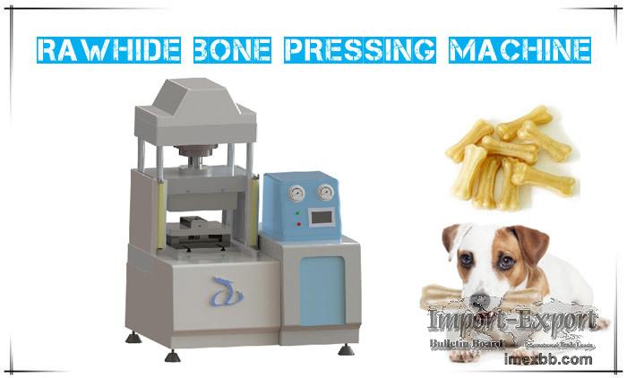 Dog Chews Rawhide Bone Pressing Machine