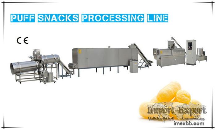 Puff Snacks Processing Line