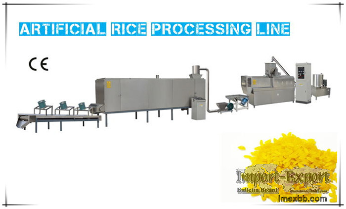 Artificial Rice Processing Machines
