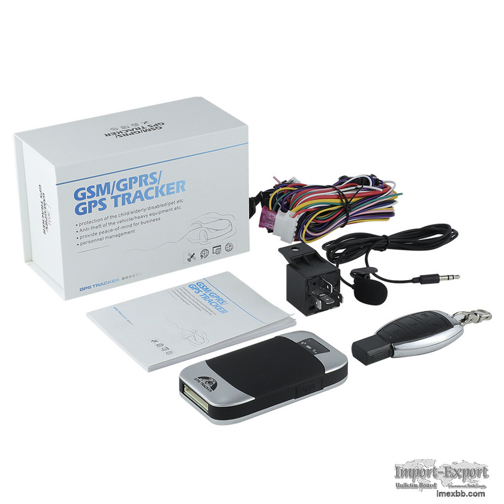 Vehicle Tracking Device 4G Vehicle Alarm System GPS303 3G with Fuel Level S