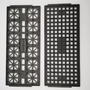 Heat Resistant Anti Static Jedec IC Trays Electronic Components Tray