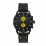 FEATURES OF SS661 GENUINE LEATHER DUAL DIAL WATCHES FOR MEN