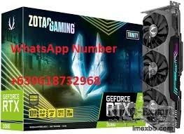 ZOTAC GAMING GeForce RTX 3090 Trinity 24GB GDDR6X 384-bit 19.5 Gbps PCIE 4.