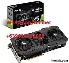 ASUS TUF Gaming NVIDIA GeForce RTX 3090 Graphics Card (PCIe 4.0, 24GB GDDR6