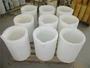 White Refractory Ceramic Crucibles Graphite Melting Crucible For Drying Bur