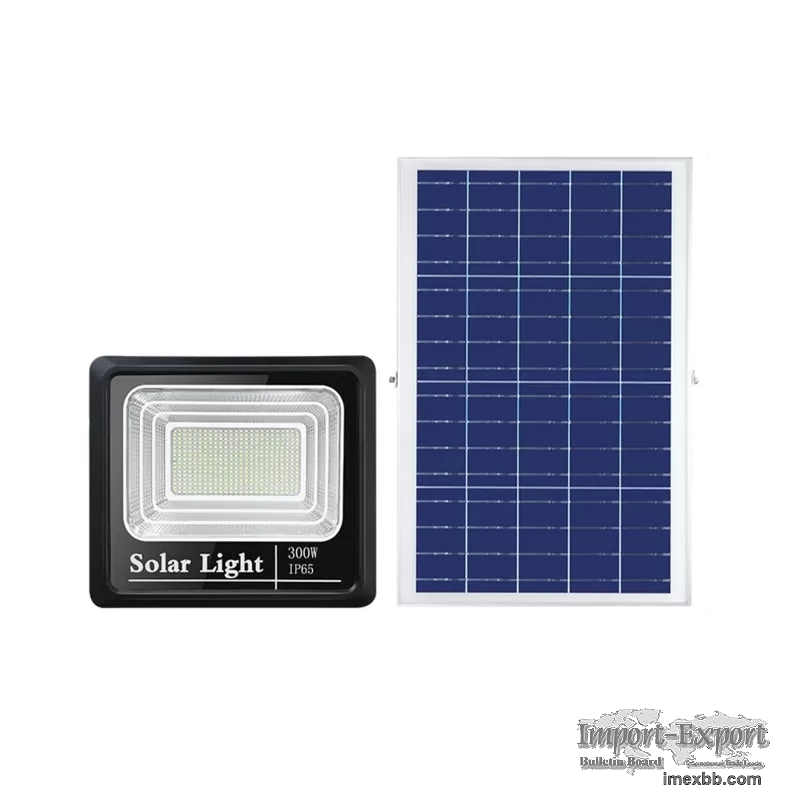 400Lm SAA Solar Panel Flood Lights 32WH Battery Operated Outdoor Remote Con