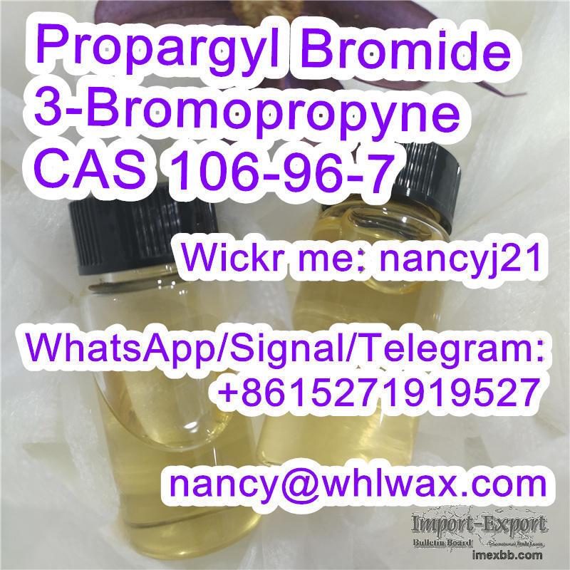 Propargyl Bromide CAS 106-96-7 3-Bromopropyne Wickr nancyj21