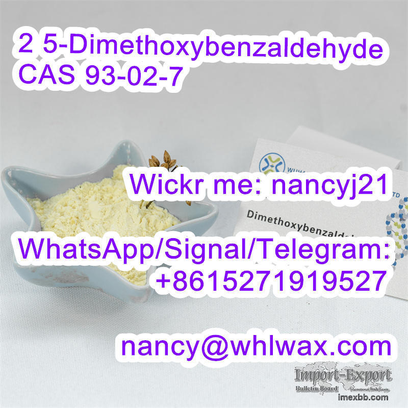 2 5-Dimethoxybenzaldehyde CAS 93-02-7 Wickr nancyj21