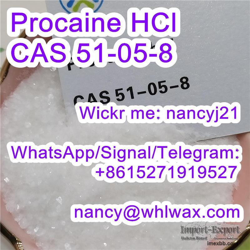 Procaine HCl CAS 51-05-8 Wickr nancyj21