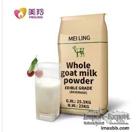 Food Additive Sterilized 25kg Dry Goat Milk Powder