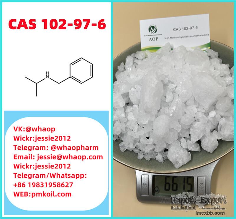 Crystalline CAS:102-97-6 N-Isopropylbenzylamine Wickr:jessie2012