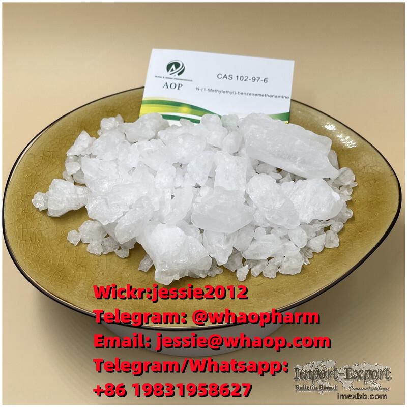 Big Sale! CAS:102-97-6 Crystal N-Isopropylbenzylamine Wickr:jessie2012