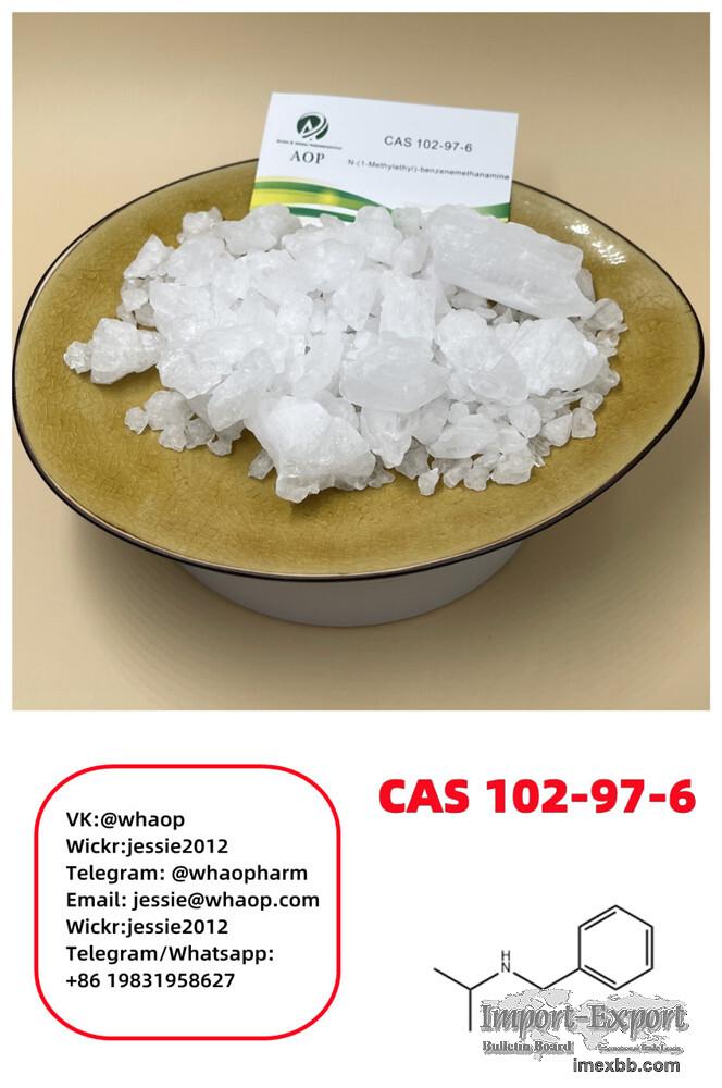 Crystal CAS:102-97-6 N-Isopropylbenzylamine Supplier Wickr:jessie2012