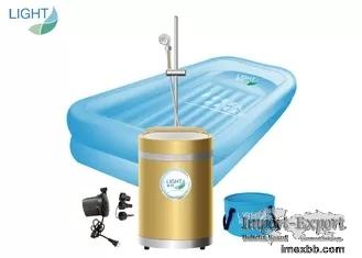 Anti Virus PVC Portable Inflatable Bathtub Intelligent Constant Temperature