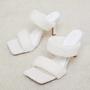 8cm Women High Heeled Shoes