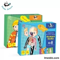 Learn Body Part Educational Puzzle Toys , 48 Human Body Puzzle For Kids