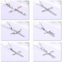 925 sterling silver necklace cross necklace for men and women