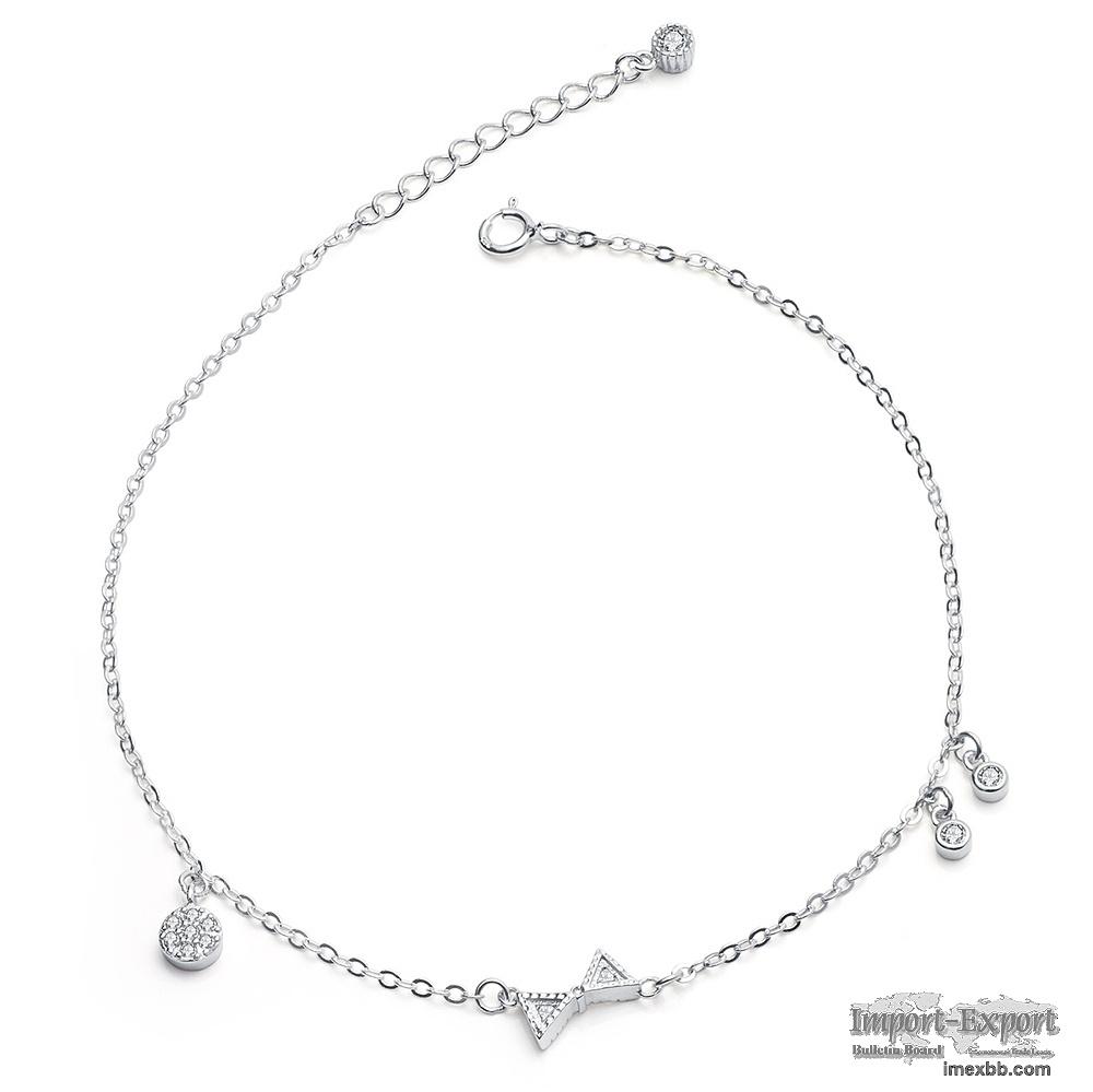 Wholesale 925 sterling silver bracelet Simple design bracelet