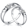 Zirconia Sterling Silver Rings Engagement Jewelry 925 Sterling Silver Ring