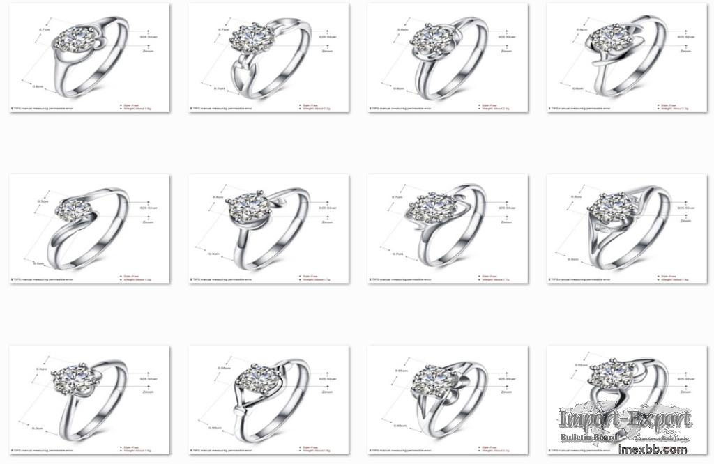 Dainty 925 Sterling Silver Finger Signet Rings for Women Pinky Rings
