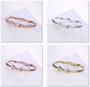Perfect Cut EngagementRingsSilver Color Jewelry Zircon EternityRing
