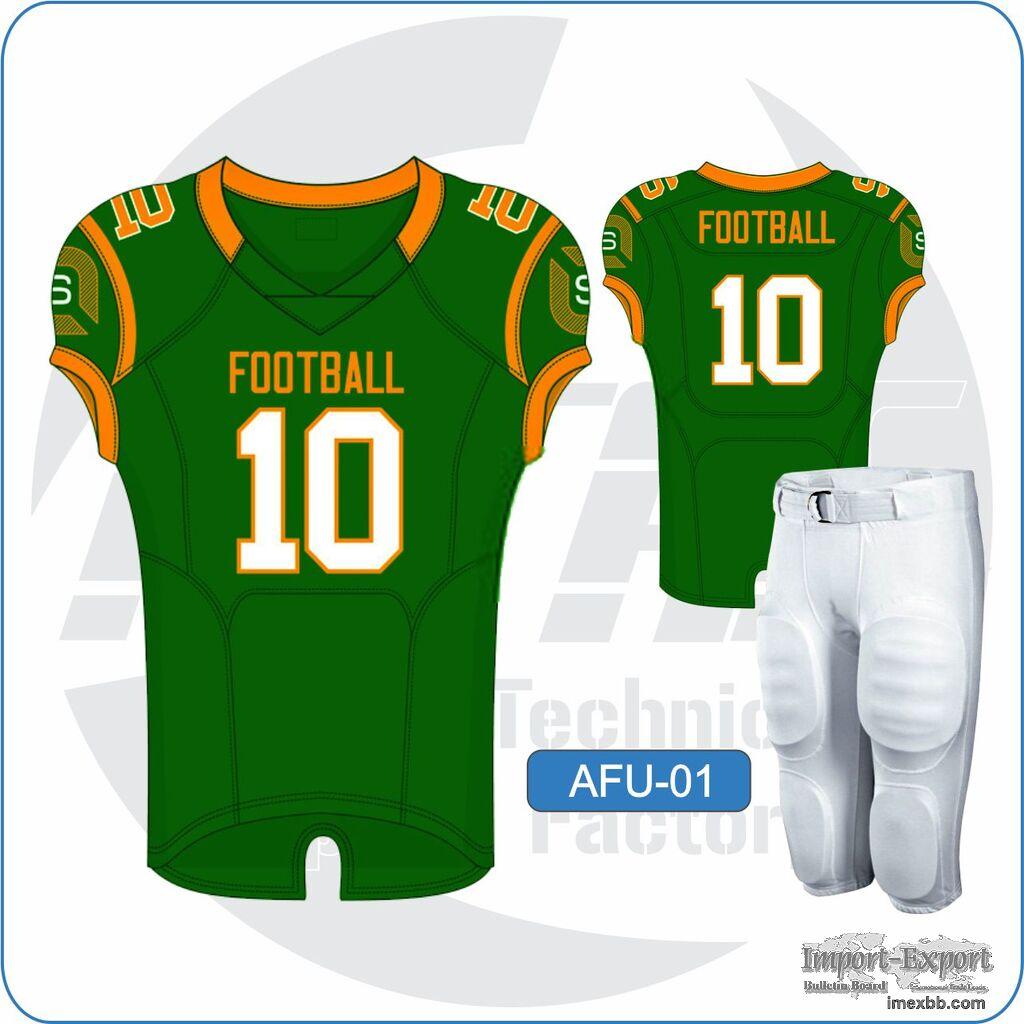 Custom American Football Jerseys / Unifroms