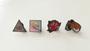Custom Metal Hard Enamel Badge Lapels Pins with Paper Cards